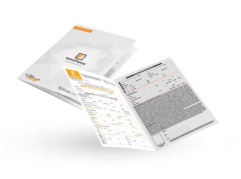 Formularios de solicitud de arrendamiento - InmoFianza S.A.S.